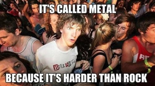 Metal and Rock