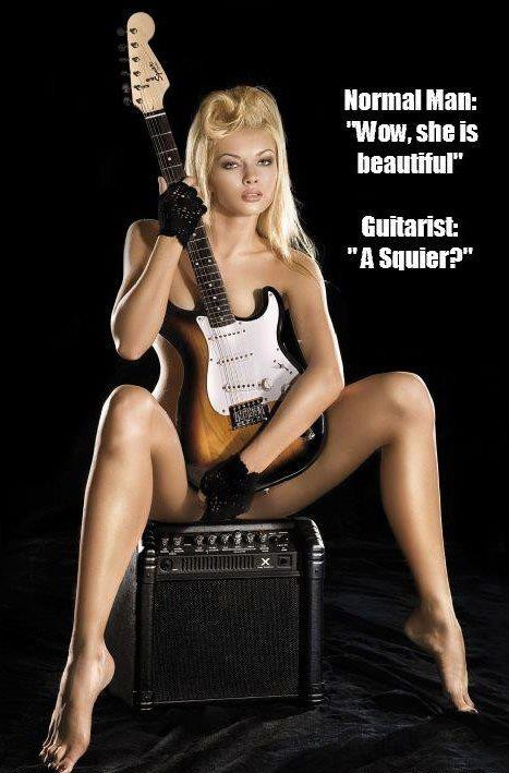 squier and ibanez