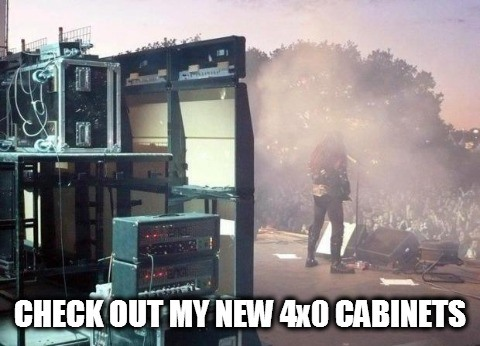 4x0 cabinets