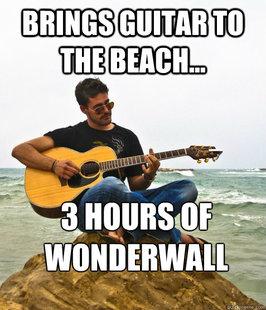 guitar douchebag