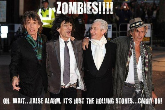 rolling zombies