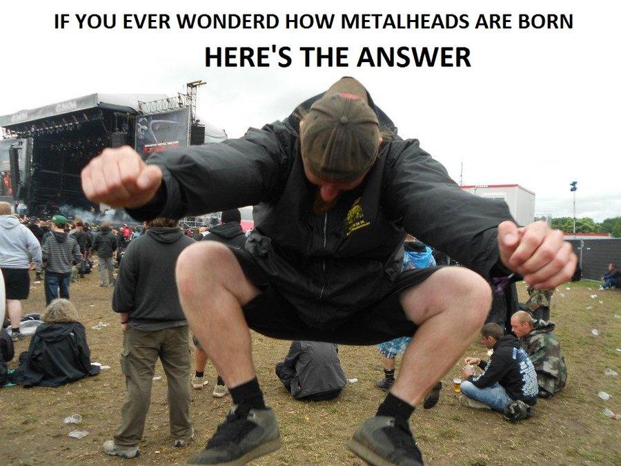 birth of a metalhead