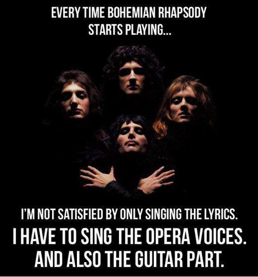 bohemian rhapsody coolness